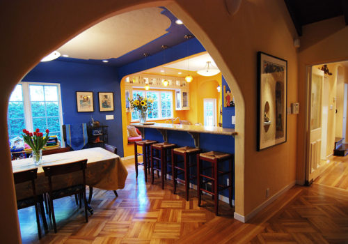 Tudor Craftsman House Remodel in Palo Alto